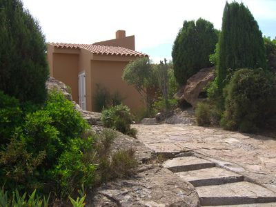Photo for Studio B & B in a two-family villa with garden and parking