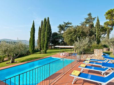 Photo for Villa in Greve In Chianti with 5 bedrooms sleeps 10