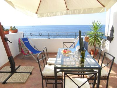 Photo for Villa Tramontana, a marvelous residence on the sea with a view of Capri