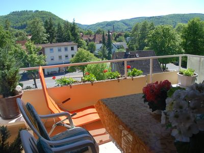 Photo for Apartment in Bad Harzburg with breakfast café next door, parking, large balcony, wifi
