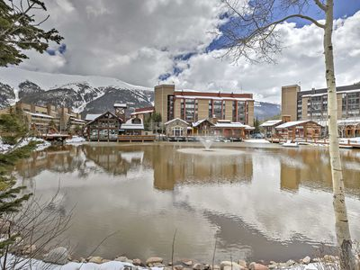 Photo for Spacious Copper Mtn Condo- 1 Min Walk to Ski Lift!