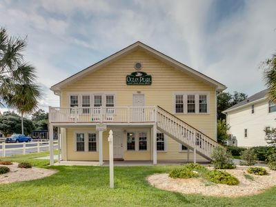 Photo for 2 story, 2nd Row Beach House w/private pool & hot tub + FREE DAILY ACTIVITIES
