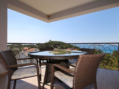 Photo for Villa Oleandra Apartments Drage **** - Luxury apartment with stunning sea views