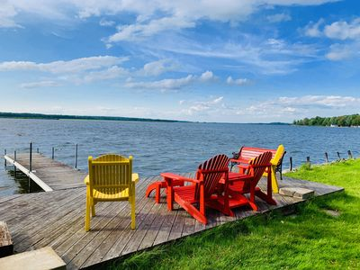 Photo for Waterfront Cottage - 1.5 hours from Toronto - Sleeps 7