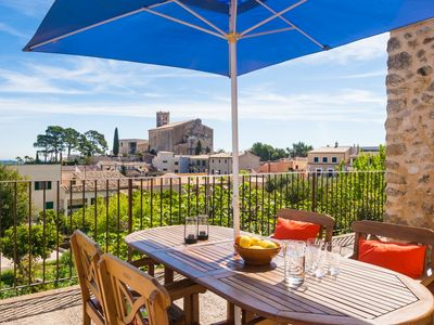 Photo for Casa Can Selva, village house with stunning views to Pto. Alcudia