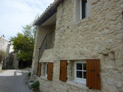 Photo for Charming house in the village of Lurs, Provence