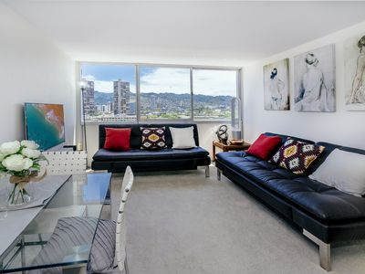 Photo for Aloha Lani 12th Floor 1/1/1 Recently Renovated Spectacular Mountain View