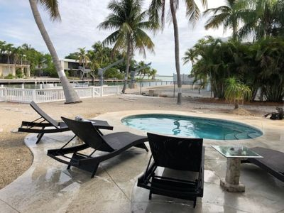 SUGARLOAF KEY Home on Wide Canal - 4 Bedroom, 2 Bath with Pool