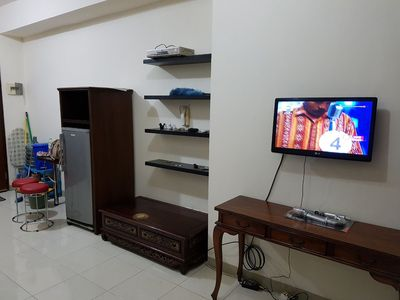 Photo for A Full Furnished 2 Bedroom Apartment, Nice place with affordable price, Salemba