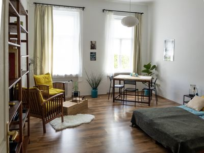 Photo for Stylish, calm studio close to the center with breakfast and bikes
