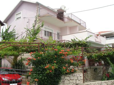 Photo for Apartment for 2+1 persons with a spectacular sea view