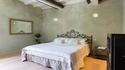 Photo for HISTORICAL CENTER TRASTEVERE CHARME AND COMFORT 2 BEDROOMS 2 BATHROOMS