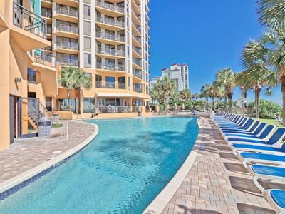 Photo for Pet friendly, True one bedroom direct oceanfront with a large balcony on ocean