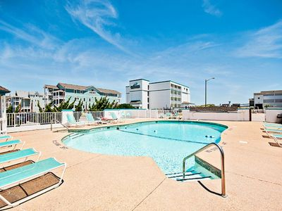 Photo for Semi-Oceanfront condo with pool access - walk to beach, restaurants & more! Pets allowed (CR102 - Sea 'N Ski)