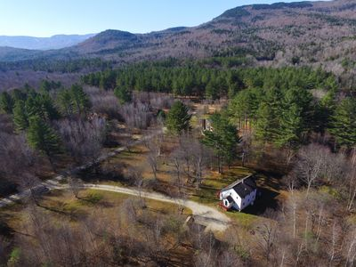 Photo for Secluded pet friendly house w/ hot tub and BBQ. 15 minute to Sunday River