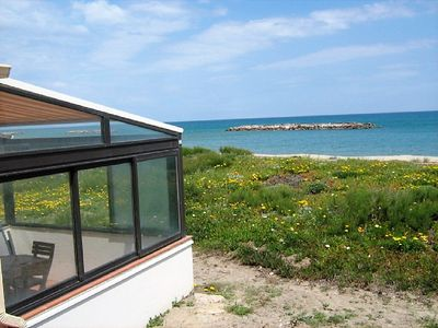 Photo for Studio with terrace of 10m² sea view 180 °