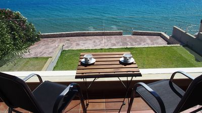 Photo for Dip In The Blue 1-4 bedroom house with seaview and direct access to the beach