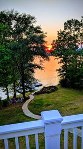 Photo for Boats Welcome at our Serene Lake Home with Deep Water Dock and Big Water View