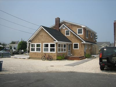 Photo for Renovated 5 Bedroom 2 Bath Waterfront Summer Beach House