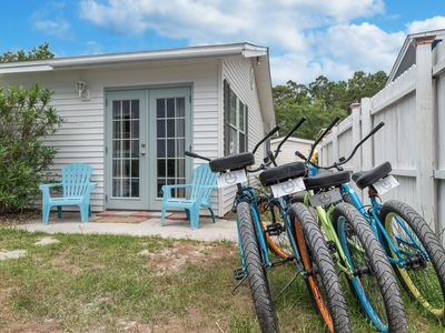 Photo for Sea Suns - 4 Min Walk to Beach South of 30a! Bikes & Kayaks Included!
