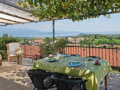 Photo for Apartment Puegnago sul Garda for 4 - 6 people with 2 bedrooms - Apartment