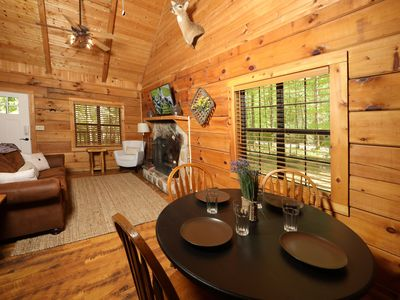 Photo for Yellow Door Cabin - a cabin getaway in the heart of Townsend
