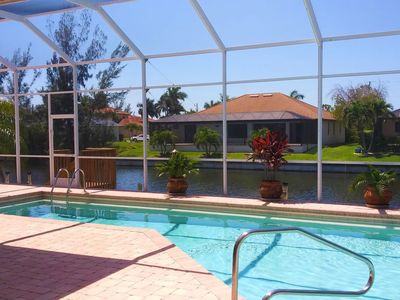 Photo for Vacation home Villa Oasis in Cape Coral - 10 persons, 4 bedrooms