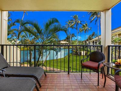Photo for Lovely Views of Freshwater Lagoon and Tropical Gardens on Kauai's Coconut Coast