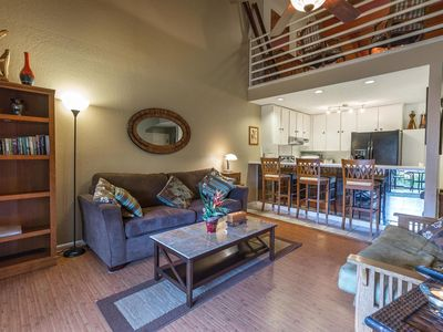 Photo for Kihei Resort - Beautiful 2BR Unit in a Quiet Tropical Resort steps to the Beach!