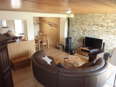 Photo for Large Chalet in Angles with magnificent view of lake and mountains, classified 4 *