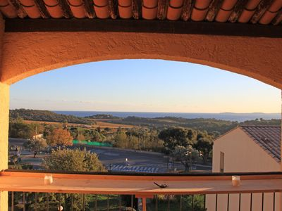 Photo for On TOP location, quiet located apartment, overlooking the Mediterranean sea