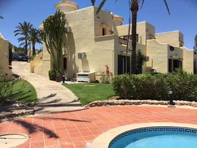 Photo for A detached villa in the centre of the resort super views and close to amenities