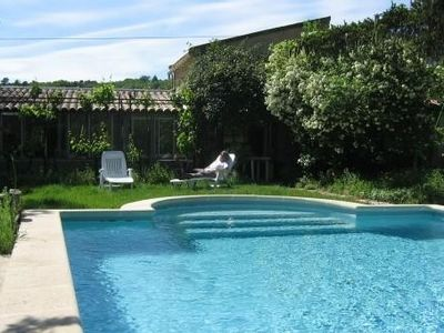 Photo for Cottage In Provence in front of Luberon, 5 km from Gordes