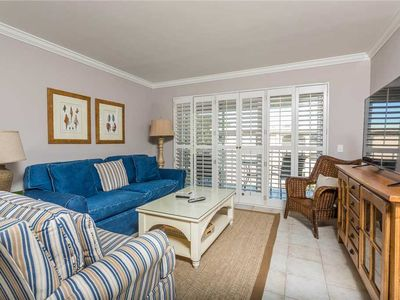Photo for Oceanfront Condominium on St Simons!  Pool, Beach Access, Fitness Center, Tennis