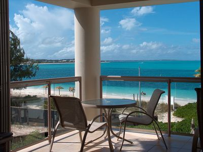Photo for Coral Gardens Direct Ocean Front Right On Grace Bay...Great Deal For The Money