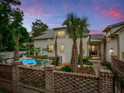 Photo for Steps to Village and Beaches! Special Rates! Pool! New Custom Home 6 Bedrooms, Sleeps 12