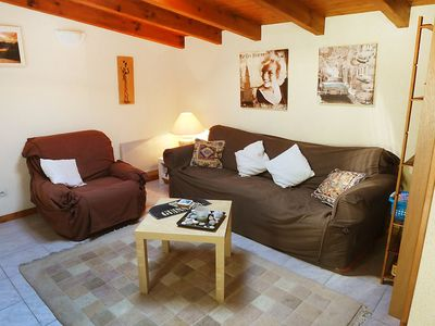 Photo for House 29 m from the center of Condéon with Parking, Internet, Washing machine, Pool (109273)