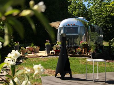Photo for Gorgeous, Renovated Airstream, 3 Miles from Dreams Park and Downtown, Sleeps 4!