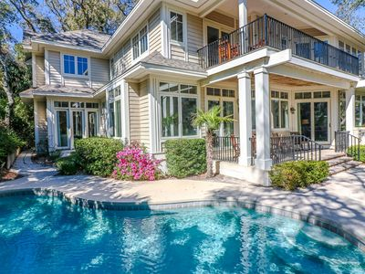 Pleasant 5Br House Vacation Rental In Hilton Head Island South Complete Home Design Collection Epsylindsey Bellcom