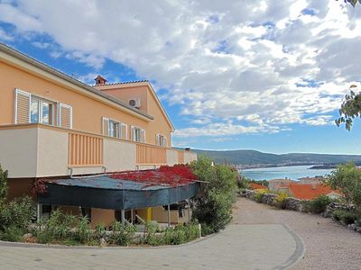 Photo for Modern family apartment - sea view, private parking, private terrace/balcony