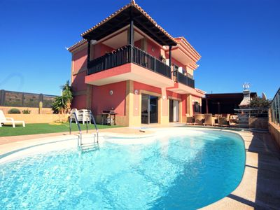 Photo for 5-star luxury villa Violetta with amazing sea views and heated pool