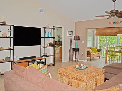 Photo for Like new spacious condo in St. Simone with beach access
