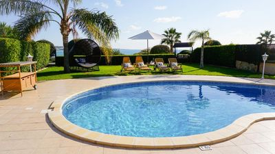 Sea Front Tequila Sunrise (Coral Bay) - Modern and Luxurious Sea Front Villa with Panoramic Views of the Mediterranean - 5 mins walk to Coral Bay Stri
