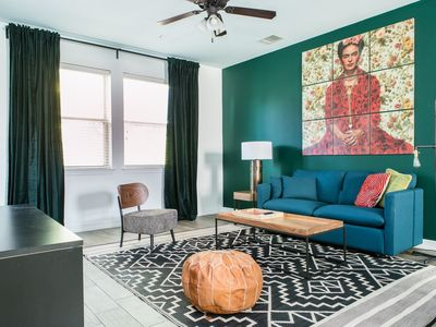 Photo for WanderJaunt | Gaines | 3BR Townhouse | Central Austin