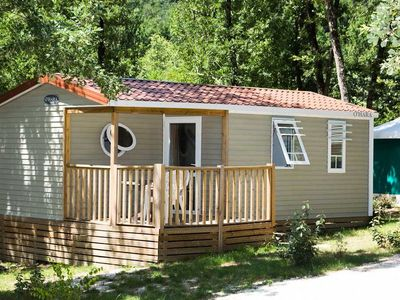 Photo for Camping Saint Pierre de Rousieux *** - Mobile home Ohara 4 Rooms 6 People