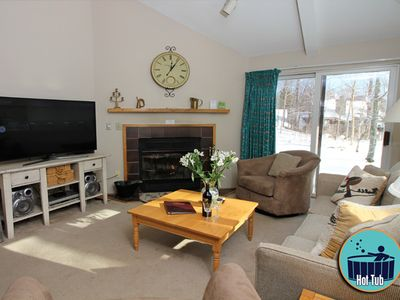 Photo for Just a stones throw from the heart of Killington  with on site spa & more