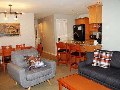 Photo for Big White Trappers Crossing 3 Bedroom Premium Condo for 8 + Hot Tub