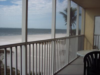 Photo for Gulf Front Condo on the Disired North End of Fort Myers Beach