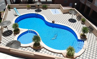 Photo for Apartment in Santa Pola,2 bedrooms, perfect for families,300 mt from the beach