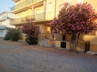 Photo for Renovated three-room apartment in a Tourist Village 100 meters from the sea Ciro` Marina